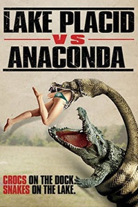 巨鳄战狂蟒海报图片