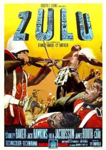 祖鲁战争海报图片