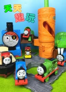 托马斯玩具火车视频海报图片