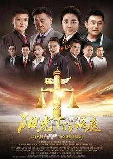 阳光下的法庭海报图片