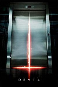 电梯里的恶魔海报图片