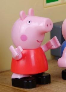 粉红猪玩具乐园海报图片