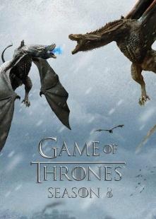 冰与火之歌:权力的游戏 第八季海报图片