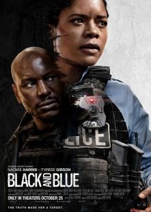 蓝与黑海报图片