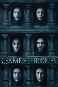权力的游戏 第六季海报图片