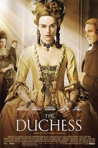 公爵夫人海报图片