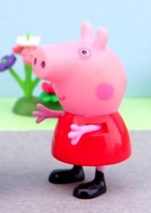 粉红猪小妹的玩具故事海报图片